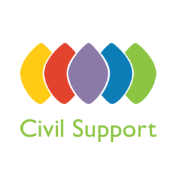 Civil Support Logó
